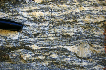 Mesoproterozoic Laclede Augen Gneiss